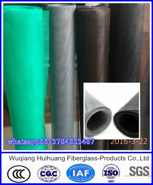 Fiberglass door screen mesh