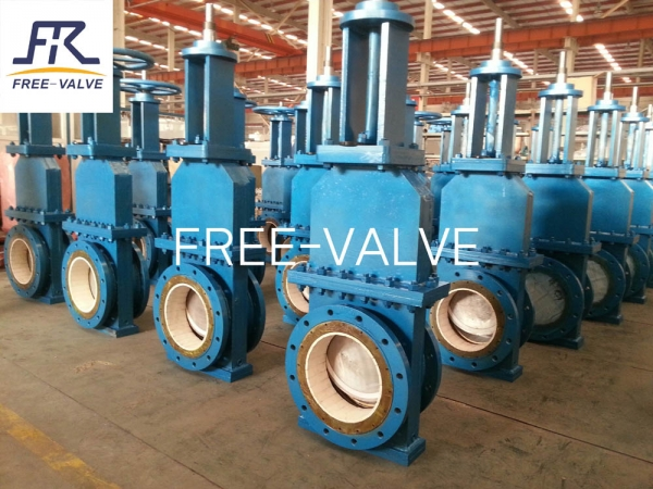 Ceramic Slurry Gate Valve for Coal Washing Plant, fly ash system