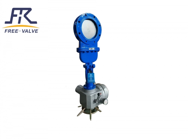 Electric bonnet Knife Gate Valve