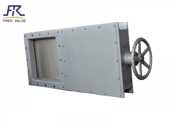 Manual Square knife gate valve