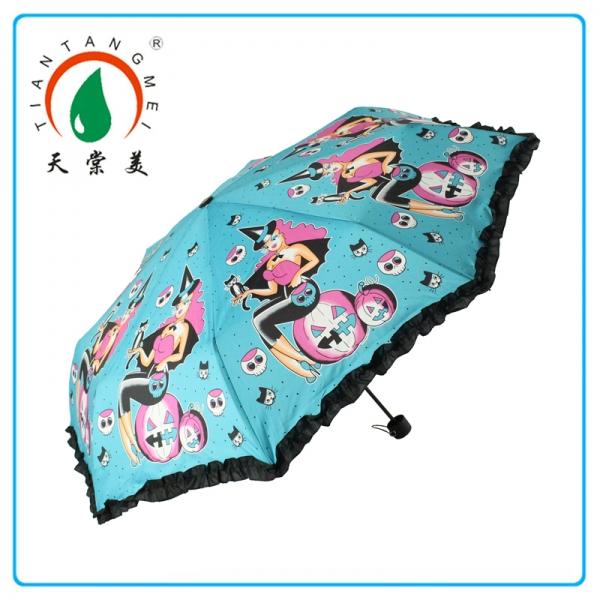 "21""*10k Bangladesh Market Satin Umbrella"