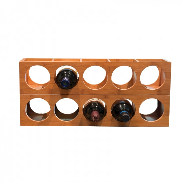 Bamboo Wine Bottle Holder From Homex-FSC/BSCI