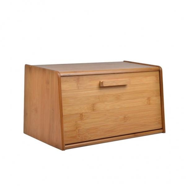 Bamboo Bread Bin --Homex_FSC/BSCI