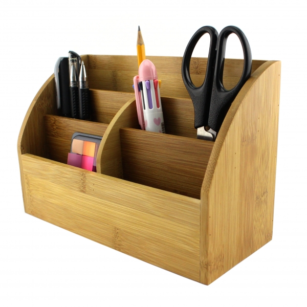 Bamboo office organizer--Homex-FSC/BSCI
