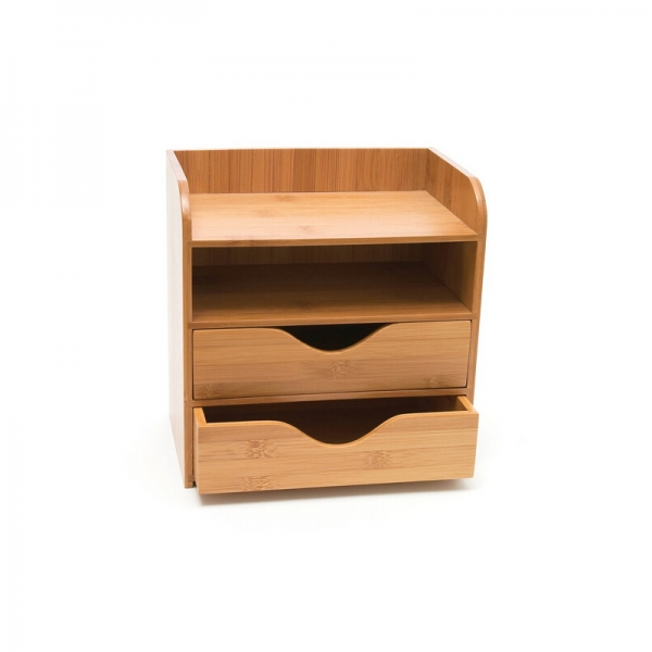 Bamboo Office Desk Organizer--Homex-FSC/BSCI