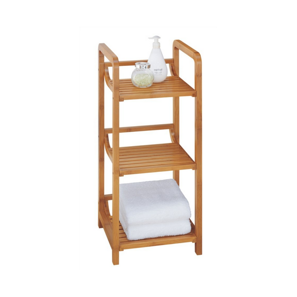 Bamboo Bathroom Shelves --Homex_FSC/BSCI