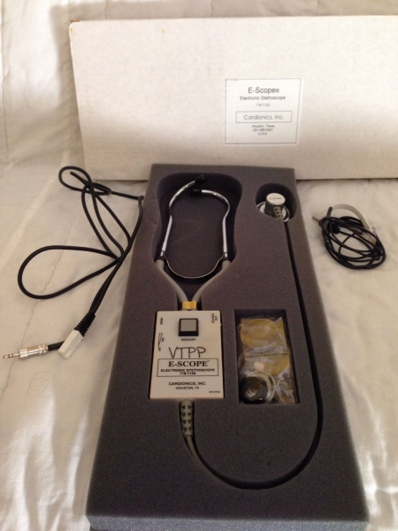 Electronic Stethoscope Cardionics E-Scope 718-7120