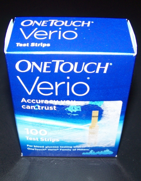 OneTouch 100  Verio Blood Glucose Diabetic Test Strips