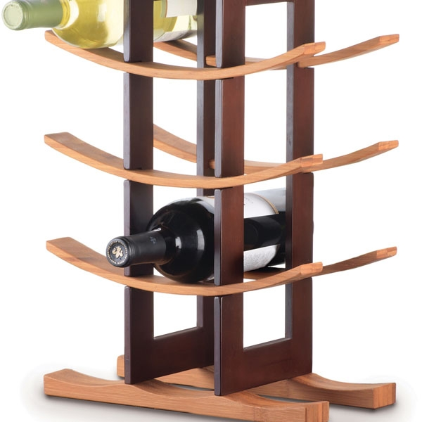 Bamboo Wine Rack --Homex