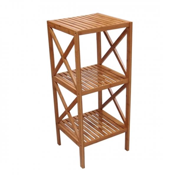 Bamboo Bathroom Shelf--Homex