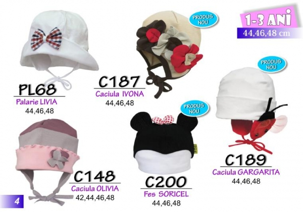 Baby clothing, hats,caps,bandanas and outfits