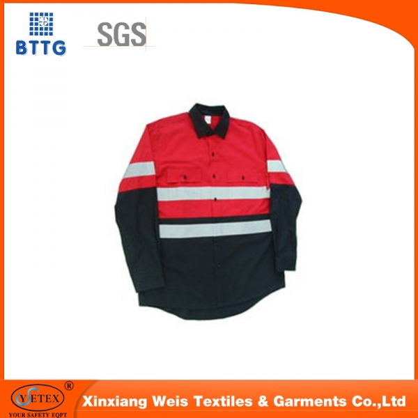 FR fire resistant cotton factory worker jacket