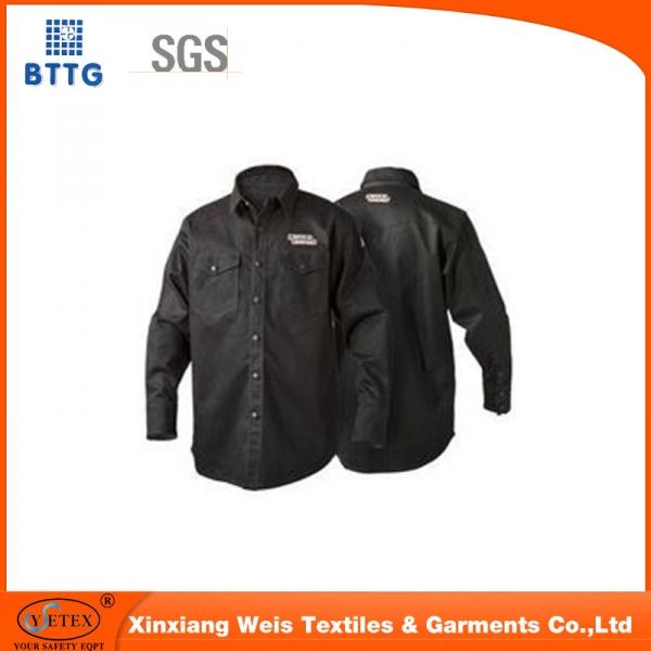 china supplier waterproof EN11611, EN20471 flame retardant hi vis jacket