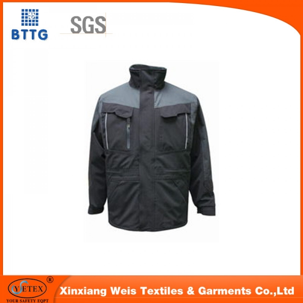 Xinxiang ysetex 100%cotton fire resistant workwear jacket/coal mining
