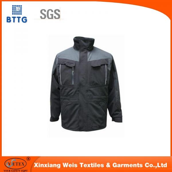 Xinxiang ysetex 100%cotton fire resistant workwear jacket/coal mining