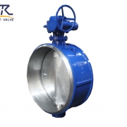 Butt Welded Butterfly Valve, triple eccentric Butt Welded Butterfly Valve,Triple Offset Butt Welded Butterfly Valves