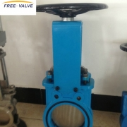 Bi directional knife gate valve