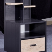 Metal Bedroom Furniture Bedside Table Nightstands