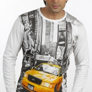 Mens Full Sleeved T-shirt