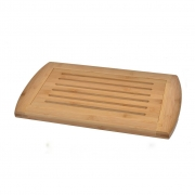 Bamboo Bread Cutting Board With Crumb Catcher--Homex-FSC/BSCI