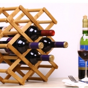 Bamboo Wine Rack From Homex_FSC/BSCI