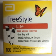 Freestyle Lite Glucose Test Strips 100ct