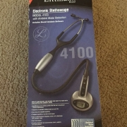 littmann 3M electronic stethoscope Model 4100