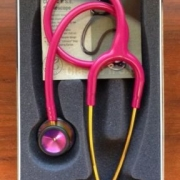 Littmann 3M Classic II S.E. 28 Stethoscope RASBERRY Rainbow 2829RBW New in Box
