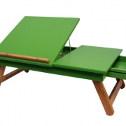 Bamboo Colored Laptop Tray --Homex