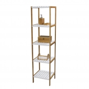 Bamboo Bathroom Shelf--Homex