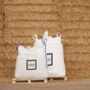 Crushed (granulate) straw pellets bedding