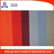 100% cotton flame retardant fabric for safety/protective workwear