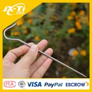 165mm outdoor Heavy Duty Titanium tent peg hooks ,camping essential accessories