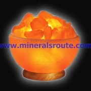 Bowl Shape Rock Salt Lamps