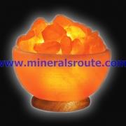 Bowl Shape Rock Salt Lamps